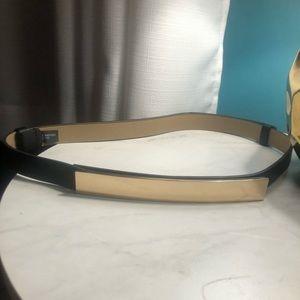 Express Gold Mirrored Waist Belt